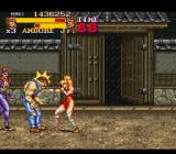 Final Fight 2 SNES It's raining