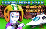 Commander Keen 4: Secret of the Oracle DOS Title screen (unofficial CGA Composite version)