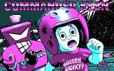 Commander Keen 5: The Armageddon Machine DOS Title screen (CGA version)