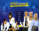 All Star Strip Poker: Girls at Work Windows Main menu