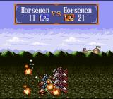 Gemfire SNES Battle animation - Two Horsemen-Units are battling it out
