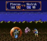 Gemfire SNES Battle between two wizards - Wizards are the most powerful units