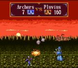 Gemfire SNES A wizard wiping out some poor archers