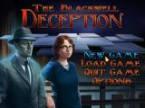 The Blackwell Deception - Main menu