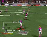 adidas Power Soccer 2 PlayStation Long pass or Short pass.