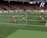 adidas Power Soccer 2 PlayStation Goal replay.