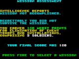 Airborne Ranger ZX Spectrum You died