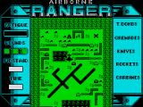 Airborne Ranger ZX Spectrum Fly over and drop supplies before parachuting