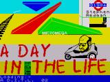 A Day In the Life ZX Spectrum Loading Screen