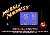 Marble Madness Genesis New high score.