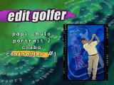 "PGA Tour 97 PlayStation Edit golfer. Only three ""portraits"" available."