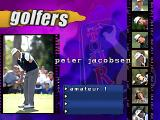 PGA Tour 97 PlayStation Peter Jacobsen, one of the REAL golfers.