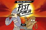 Regular Show: Fist Punch Browser Main menu