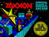 Zaxxon ZX Spectrum Title screen