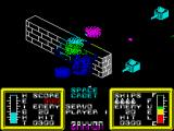Zaxxon ZX Spectrum Oops, I crashed into a wall