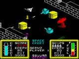 Zaxxon ZX Spectrum Destroying these targets could be tricky