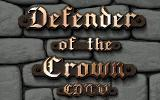 Defender of the Crown CDTV The title screen.