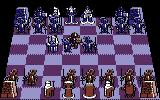 Battle Chess Commodore 64 Knight vs Knight animation