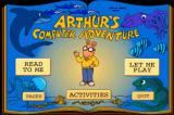 Arthur's Computer Adventure Windows Main menu