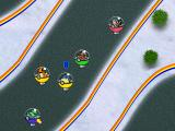 Pokémon: Team Turbo Windows Gameplay of the Street Race, in which Spheal is 3rd. In order to move on to the next race, you must get 1st.