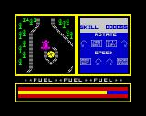 Knight Driver ZX Spectrum Damaging the car.