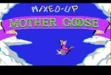 Mixed-Up Mother Goose Apple II Title screen.