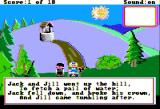 Mixed-Up Mother Goose Apple II Jack and Jill went up the hill...