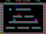 Bubble Bobble ZX Spectrum If you pop the bubble that an enemy is in they turn into items which you can pick up for points