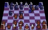 "Battle Chess Commodore 64 Playing with my custom ""knight"" board."