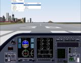 Apollo Collection 4: Business Jets DOS A generic cockpit is used with all aircraft, this one is used for the dual jets. (FS2000)