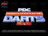 PDC World Championship Darts 2008 Windows Title Screen.