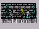 Batman: The Caped Crusader ZX Spectrum Armed thugs are patrolling the streets