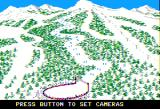 The Games: Winter Edition Apple II Down Hill - set up cameras