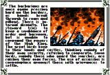 Times of Lore Apple II Barbarian raiders everywhere! What this land needs is a hero!