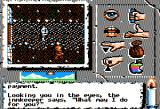 Times of Lore Apple II Off we go into the wild world that awaits us outside!