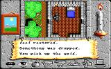 Times of Lore DOS Found a little hut with a bed and a dagger.