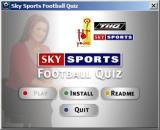 Sky Sports Football Quiz Windows This screen is used to install the game. After the installation is complete the greyed out 'Play' button becomes active allowing the player to start the game