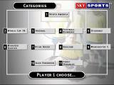 Sky Sports Football Quiz Windows A 'Dream team' game. Each player position corresponds to a question category
