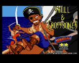 Skull & Crossbones Amiga Title screen