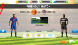 Real Soccer 2013 Android Barcelona faces Madeira in a friendly match