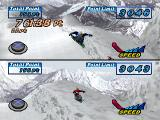 Snowboarding  PlayStation Trick - 2P Mode.
