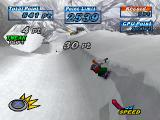 Snowboarding  PlayStation Tweak. Press the X button!
