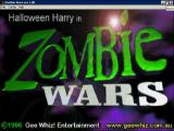 Zombie Wars Windows The title screen