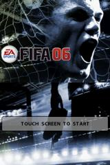 FIFA Soccer 06  Nintendo DS Title Screen