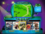 A Collection of Classic Games from the Intellivision PlayStation The game selection menu is very nicely put together.