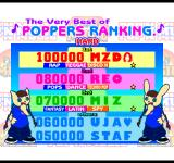 pop'n music PlayStation Poppers ranking.