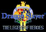 Dragon Slayer: The Legend of Heroes II Genesis Title screen