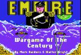 Empire: Wargame of the Century Apple II Title screen.