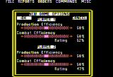 Empire: Wargame of the Century Apple II New game options.