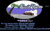OutRun Commodore 64 Title screen (US Release)
